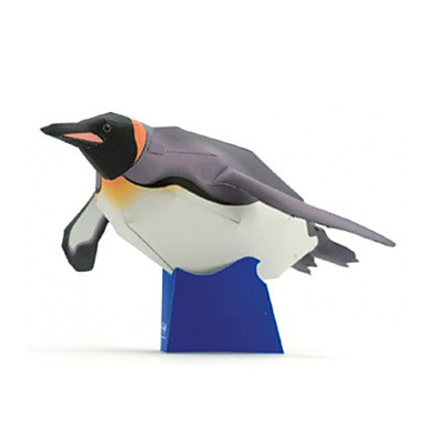 voordelige 3D-puzzels-3D-puzzels Bouwplaat Modelbouwsets Pinguïn DHZ Hard Kaart Paper Klassiek Kinderen Unisex Jongens Speeltjes Geschenk
