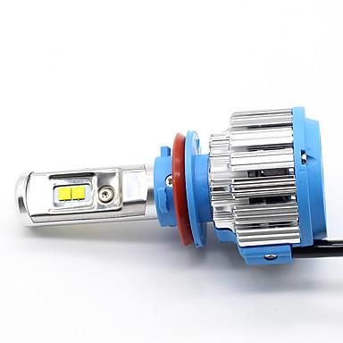 H8 H11 Carro Lâmpadas 35W W LED de Alto Rendimento 7000lm lm Lâmpada de Farol