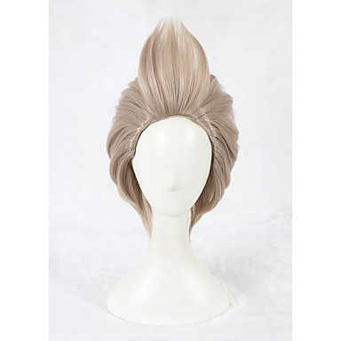 14inch Short Flaxen Wig Cosplay Final Fantasy 15 Cosplay Ignis Scientia Wig Anime Cosplay Hair Wig CS-326D