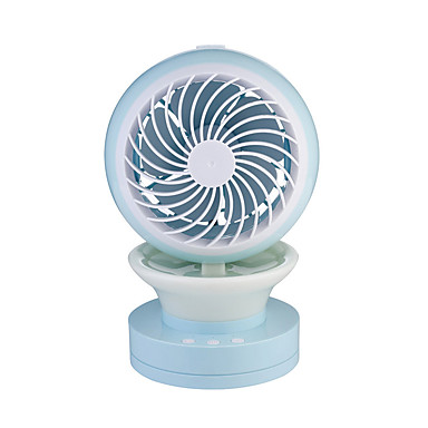 F15 USB Fan Humidifier Spray Night Light Mute Slip with 100cm Cable