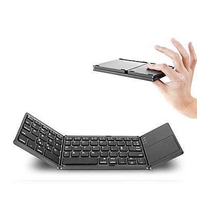 Bluetooth 87 Office Keyboard Mini Összecsukható Érintőképernyővel