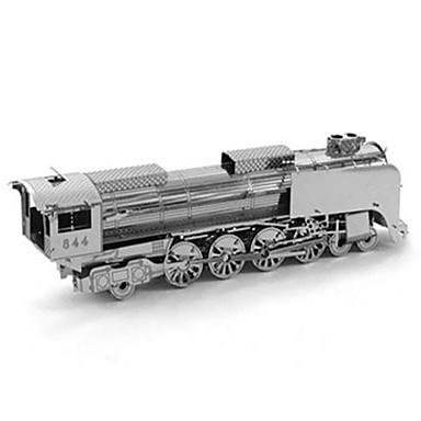 Quebra-Cabeças 3D Quebra-Cabeça Quebra-Cabeças de Metal Brinquedos de Montar Redonda Inovador 3D Faça Você Mesmo Alumínio Metal