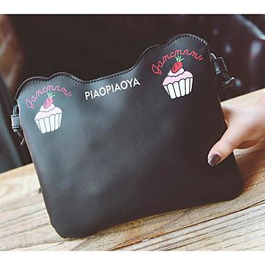 Women Bags PU Crossbody Bag for Casual Outdoor All Seasons Black