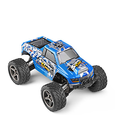 Carro com CR WL Toys 2.4G SUV 4WD Alta Velocidade Drift Car Off Road Car Monster Truck Bigfoot Jipe (Fora de Estrada) 1:12 45km/h KM / H