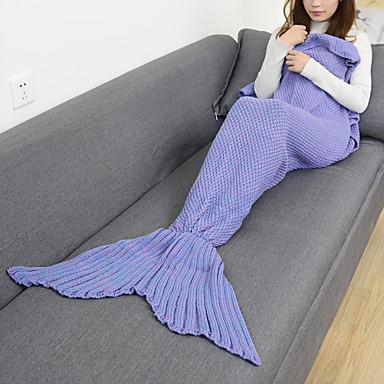 Emergency Blanket Blanket Travel Blanket Casual/Daily Mermaid