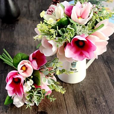 Kunstige blomster 1pcs Gren Europeisk Stil Orkideer Bordblomst