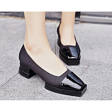 Women's Sandals Comfort Patent Leather Summer Casual White Black 1in-1 3/4in