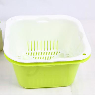 miljøvern plast grønnsak fruktkurv kjøkken lagring