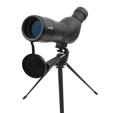 billige Monokulære kikkerter, kikkerter og teleskoper-15-45 X 60mm Monokulær Teleskoper Tag Objektiver Anti-Tåge Foldbar Professionel Multilag BAK4 Metallegering Gummi