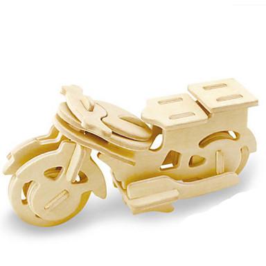 Lekebiler 3D-puslespill Puslespill Tremodeller Dinosaur Tank Luftkraft Motorsykkel 3D Dyr GDS Tre Klassisk Unisex Gave