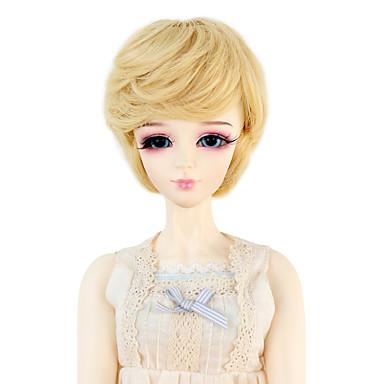 Perucas sintéticas Ondulado Mulheres boneca peruca Cabelo Sintético