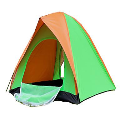 CAMEL 2 personer Telt Enkelt camping Tent Ett Rom Familietelt Ventilasjon Fort Tørring Sammenleggbar Lettvekt til Camping & Fjellvandring