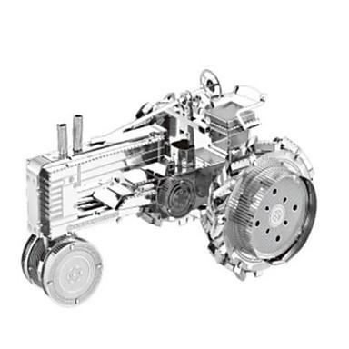 Lekebiler 3D-puslespill Puslespill Metallpuslespill Tog Trailer 3D GDS Rustfritt Stål Chrome Metall Klassisk Tog Unisex Gave