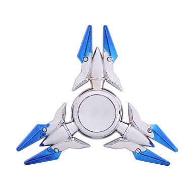 Fidget Spinner Hand Spinner Spinning Top Toys Toys Stress and Anxiety Relief Focus Toy Relieves ADD, ADHD, Anxiety, Autism Round Chrome