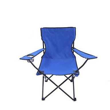 Camping Folding Chair Beach Chair Collapsible Thick Nylon fiber for Camping / Hiking Fishing