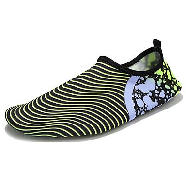 Homens sapatos Borracha Primavera Outono Conforto Tênis Água para Ao ar livre Branco Verde Azul