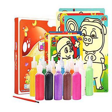Brinquedo para Desenhar Brinquedos de Faz de Conta Antiestresse Pintura Amiga-do-Ambiente Faça Você Mesmo Mistura de Material Crianças