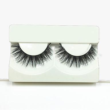 Olhos Pestanas Levantadas Volumizado Maquiagem para o Dia A Dia Tiras Completas de Cílios Cruzado Comprimento Natural Acessórios para