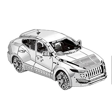 Toy Car 3D Puzzles Metal Puzzles Car Ship Destroyer Pirate Ship 3D Furnishing Articles DIY Chrome Metal Classic Pirate SUV Unisex Gift