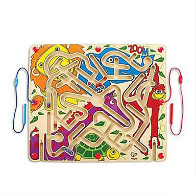 Jogos de Labirinto & Lógica Labirinto Labirintos Magnéticos Brinquedos Avião Animais Magnética Festa Madeira Crianças 1 Peças