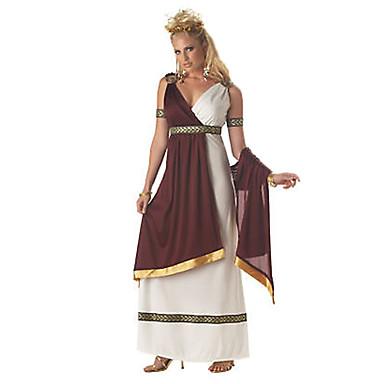 Roman Costumes Queen Goddess Cosplay Dress Women's Halloween Carnival Festival / Holiday Halloween Costumes Vintage