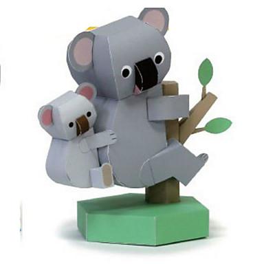 Quebra-Cabeças 3D Maquetes de Papel Artesanato de Papel Brinquedos de Montar Pinguim Urso Faça Você Mesmo Clássico Crianças Unisexo Dom