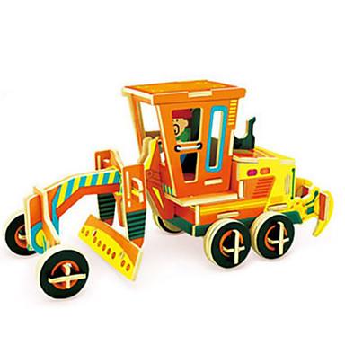 voordelige 3D-puzzels-Robotime 3D-puzzels Legpuzzel Vrachtwagen DHZ Puinen Klassiek Constructievoertuig Kinderen Volwassenen Unisex Speeltjes Geschenk