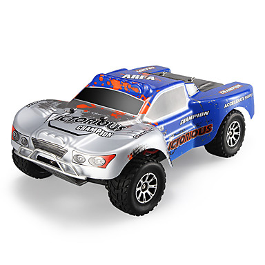 RC Car WLtoys A969-B 2.4G Buggy (Off-road) / Off Road Car / Drift Car 1:18 Brush Electric 70 km/h KM/H Remote Control / RC / Rechargeable / Electric