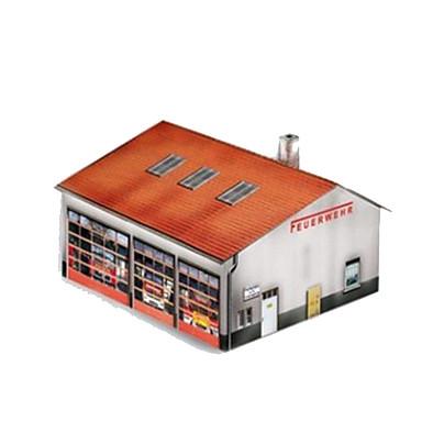 Quebra-Cabeças 3D Maquetes de Papel Artesanato de Papel Brinquedos de Montar Navio Casa Faça Você Mesmo Cartão de Papel Duro Clássico