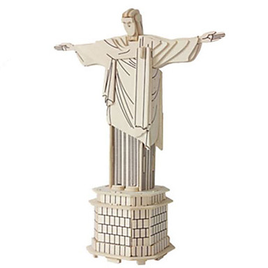 3D Puzzles Jigsaw Puzzle Wood Model Famous buildings Architecture Other 3D DIY Wood Natural Wood Classic Kid's Unisex Gift