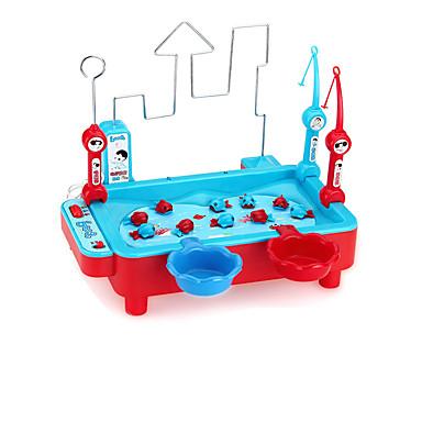 Brinquedos de pesca Brinquedo Educativo Magnética Elétrico Peixes Crianças Dom