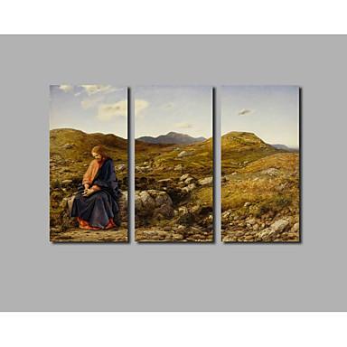 Canvas Print Abstract,Three Panels Canvas Horizontal Print Wall Decor Home Decoration