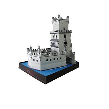 3D Puzzles Paper Model Paper Craft Model Building Kit Tower Famous buildings Architecture DIY Classic Unisex Gift