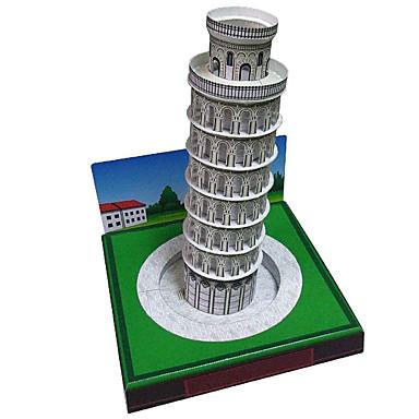 Quebra-Cabeças 3D Maquetes de Papel Torre Construções Famosas Faça Você Mesmo Cartão de Papel Duro Crianças Unisexo Dom