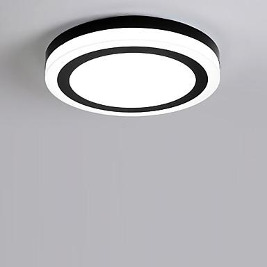 Chique & Moderno Moderno/Contemporâneo Lâmpada Incluída Montagem do Fluxo Luz Ambiente Para Sala de Estar Quarto Interior Branco Quente