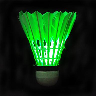 Vapaa-ajan urheilu Sulkapallo LED valot LED-valo LED-valo Kevyet materiaalit varten Korkki