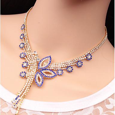 Mulheres Conjunto de jóias - Flor Original Incluir Arco-íris / Verde / Azul Para Casamento Festa Ocasião Especial / Aniversário