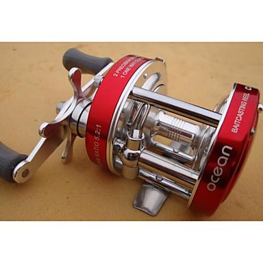 Fishing Reel csapágy Csalidobó orsók 5:1 Váltás arány+8.0 Golyós csapágy Kézi Tájolás cserélhető Tengeri halászat Műlegyező horgászat