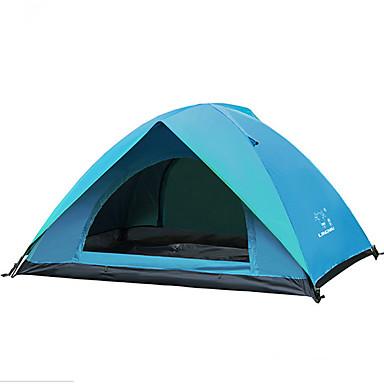 LINGNIU® 2 Personen Strandzelt Zelt Doppel Camping Zelt Außen Falt-Zelt warm halten Belüftung Regendicht Zelt Sonnenschutz