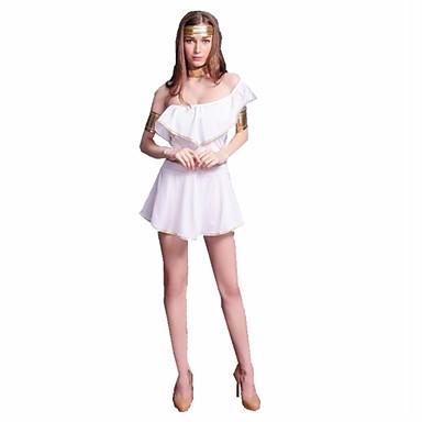 Fiabe Costumi Antichi Romani Dea Costumi Cosplay Vestito da Serata Elegante  Per donna Grecia antica Antica 2793ede553b
