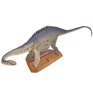3D palapeli Paperimalli Pienoismallisetit Lelut Neliö Dinosaurus DIY Kova kartonki Ei määritelty Pieces
