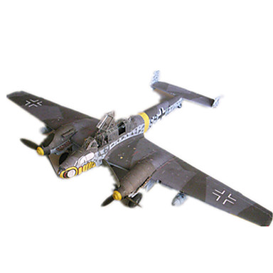 3D Puzzles Paper Model Model Building Kit Plane / Aircraft Fighter Aircraft DIY Hard Card Paper Classic Kid's Boys' Unisex Gift