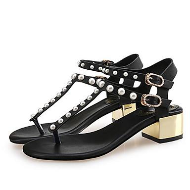 Women's Sandals Comfort Summer Microfibre Casual White Black Nude Flat