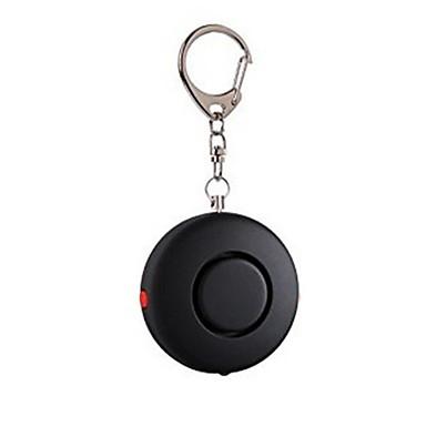 Personal Alarm Plastic Shell Woman Self-Defense LED Lights Alarm