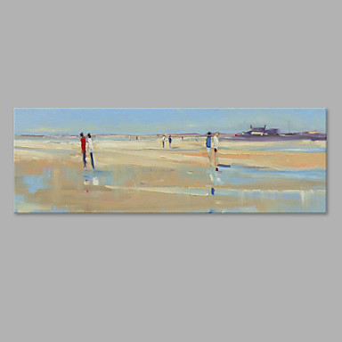 Hand-Painted Landscape Horizontal, Artistic Canvas Oil Painting Home Decoration One Panel