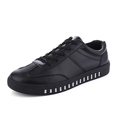 Men's Shoes PVC Spring Summer Comfort Sneakers for Casual Outdoor White Black Red