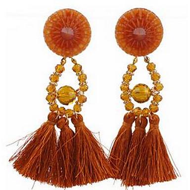 Women's Drop Earrings Jewelry Tassel Fashion EVA Resin Alloy Geometric Jewelry For Party Dailywear Gift Festival