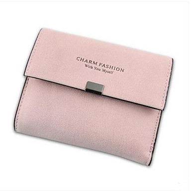 Women Bags PU Coin Purse for Casual Outdoor All Seasons Black Blushing Pink Gray