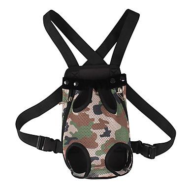Cat Dog Carrier & Travel Backpack Front Backpack Pet Carrier Adjustable / Retractable Portable Fashion Camouflage Color