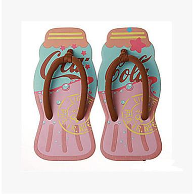 Women's Slipper & Flip-Flop Comfort Summer Canvas Casual Blushing Pink Flat